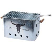 ProGarden BBQ with Wooden Grips Zinc
