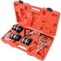 vidaXL 11 Piece Piston Ring Service Tool Set