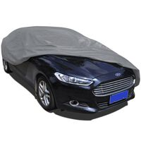 vidaXL Car Cover Nonwoven Fabric M