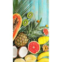 Good Morning Beach Towel FRESH FRUITS 100x180cm Multicolour