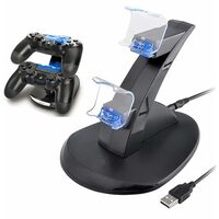 PS4 Dual Controller Charger Docking Station