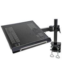 NewStar Desk Mount for Laptop 10-22 Adjustable 57 cm Black