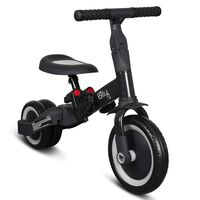 Billy 4 in 1 Balance Bike Fresa Black