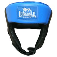 LONSDALE Jab Open Face Headguard L Blue