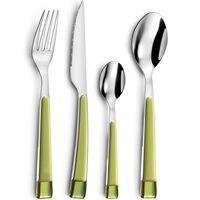 Amefa 16 Piece Cutlery Set Guimauve Green