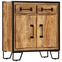vidaXL Sideboard 65x30x70 cm Solid Mango Wood