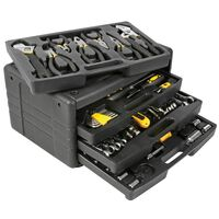 Toolland 99 Piece Tool Kit Black HST0099