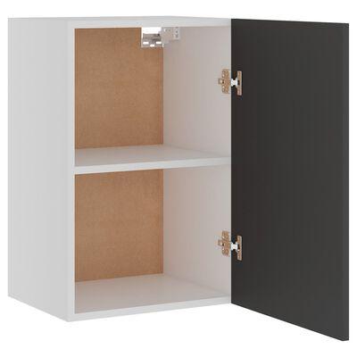 vidaXL Hanging Cabinet Grey 39.5x31x60 cm Chipboard
