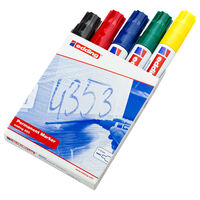 edding Permanent Marker 5 pcs Multicolour 800