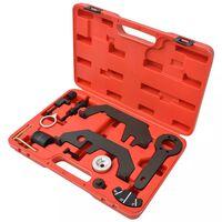 vidaXL 12 Piece Camshaft/Crankshaft Timing Tool Set V8 V12 N62 N73
