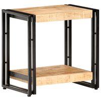 vidaXL Side Table 40x30x40 cm Rough Mango Wood