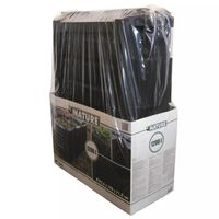 Nature Compost Bin Black 1200 L 6071483