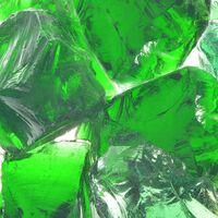 vidaXL Gabion Rocks Glass Green 60-120 mm 25 kg