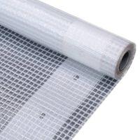 vidaXL Leno Tarpaulin 260 g/m² 4x6 m White