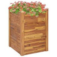 vidaXL Garden Raised Bed 60x60x84 cm Solid Acacia Wood