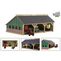 Kids Globe Tractor Barn Big 1:87 610491