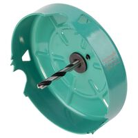 wolfcraft Hole Saw 127 mm Carbon Steel Turquoise 5973000