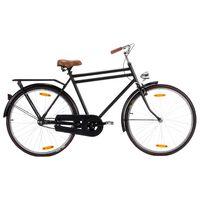 vidaXL Holland Dutch Bike 28 inch Wheel 57 cm Frame Male