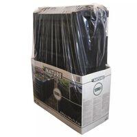 Nature Compost Bin Black 1200 L 6071483