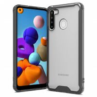 Teastaíonn Tpu Black / Trédhearcach Ó Samsung Galaxy A21
