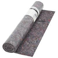 vidaXL Non-slip Painter Fleece 50 m 180 g/m² Grey