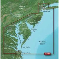 GARMIN VUS038R NEW YORK TO CHESAPEAKE BLUECHART G3 VISION