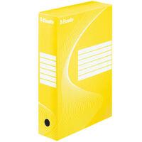 Esselte Archiving Box 25 pcs Yellow 80 mm