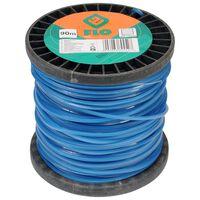 FLO Grass Trimmer Line 2.4mm 90m Blue