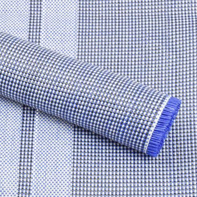 vidaXL Tent Carpet 400x250 cm Blue