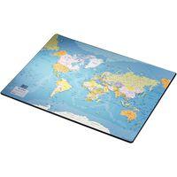 Esselte Desk Pad Europost World Map 40x53cm