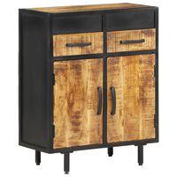 vidaXL Sideboard 60x30x75 cm Rough Mango Wood