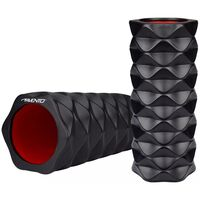 Avento Foam Roller Grid Black 41WR-ZWR-Uni