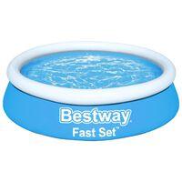 Bestway Fast Set Inflatable Pool Round 183x51 cm Blue