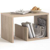 FMD Coffee Table 2-in-1 59x36x38 cm Oak