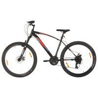 vidaXL Mountain Bike 21 Speed 29 inch Wheel 48 cm Frame Black