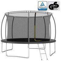 vidaXL Trampoline Set Round 366x80 cm 150 kg