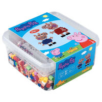 Hama Maxi Beads Set with Pegboard Peppa Pig 8746 900pcs