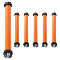 vidaXL Tubular Motors 6 pcs 20 Nm