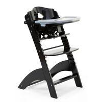 CHILDHOME 2-in-1 Baby High Chair Lambda 3 Black
