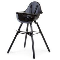 CHILDHOME 2-in-1 Baby High Chair Evolu 2 Black