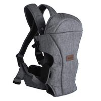 Baninni 2-in-1 Baby Carrier Sacco Melange Grey BNBC005-GY
