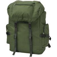 vidaXL Army-Style Backpack 65 L Green
