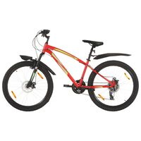 vidaXL Mountain Bike 21 Speed 26 inch Wheel 36 cm Red