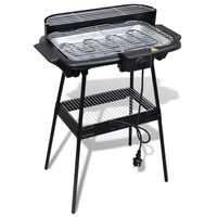 Rectangular Barbecue Electric BBQ Stand Grill Garden