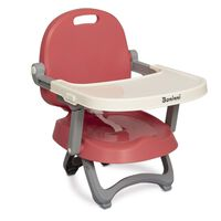 Baninni Booster Seat Sopra Pink and White