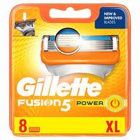 Razor blade Fusion Power 8-pack