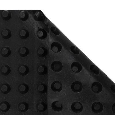 vidaXL Dimpled Drainage Sheet HDPE 400 g/m² 1x20 m