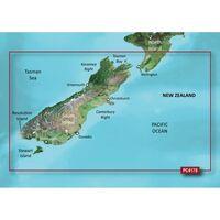 GARMIN BLUECHART G2 HXPC417S  NEW ZEALAND SOUTH MICROSD &