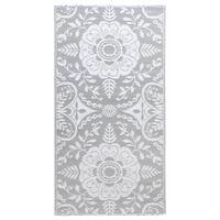vidaXL Outdoor Carpet Light Grey 120x180 cm PP