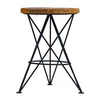 LABEL51 Stool Paris 35x52cm Black